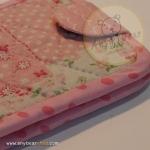 quilt wallet - pink