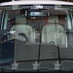 Sticker Junction Produce ติดหน้ารถ-ท้ายรถ ขนาดใหญ่ สีขาว (10.5cm x 42cm)