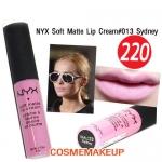 งดร่วมโปรทุกชนิด NYX SOFT MATTE LIP CREAM #SMLC13 SYDNEY สี Soft Lavender