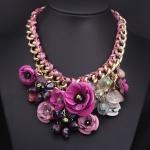 (Preorder กันยายน 57)  สวยอลังการมากๆ สร้อยคอ ZARA flower necklace