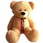 ตุ๊กตาหมียิ้มผูกเน๊คไท Teddy 1.2 เมตร  สีน้ำตาลอ่อน