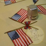 Yankee Doodle Bear U.S.Flag Blue