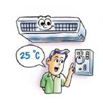วิธีการใช้เครื่องปรับอากาศ เพื่อประหยัดพลังงานไฟฟ้า..