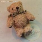 ตุ๊กตาหมีพวงกุญแจสีน้ำตาล ขนาด 9 cm. - PUFF