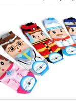 [พร้อมส่ง] ถุงเท้าเกาหลี  ถุงเท้าแฟชั่นลายอาชีพ