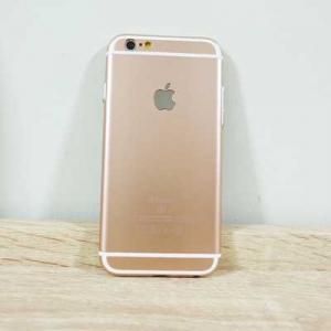 เคสไอโฟน 6พลัส/6Sพลัส ยาง สีพิ้งโกล
