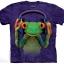เสื้อยืด3Dสุดแนว(DJ PEACE T-SHIRT) thumbnail 1