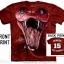 เสื้อยืด3Dสุดแนว(RED MAMBA: BONNER EDITION T-SHIRT) thumbnail 1