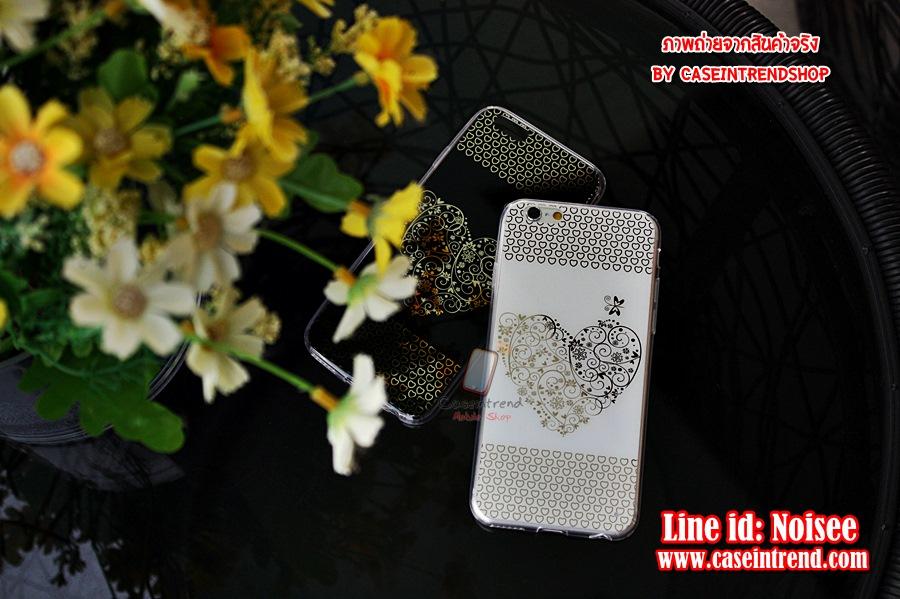 เคส iPhone 5/5s - TPU Heart