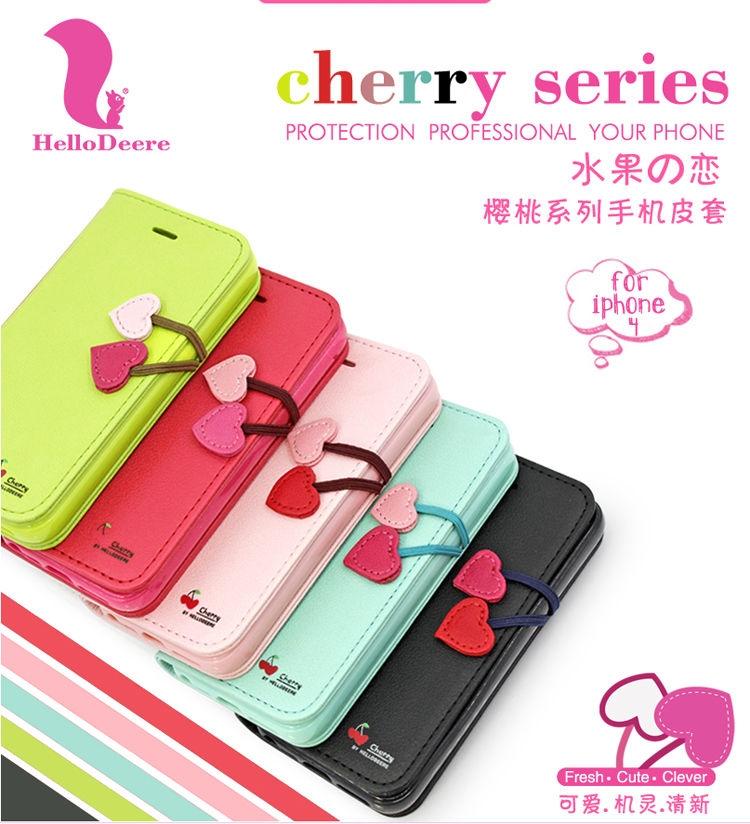เคส iPhone 4/4s Hello Deere - Cherry Series