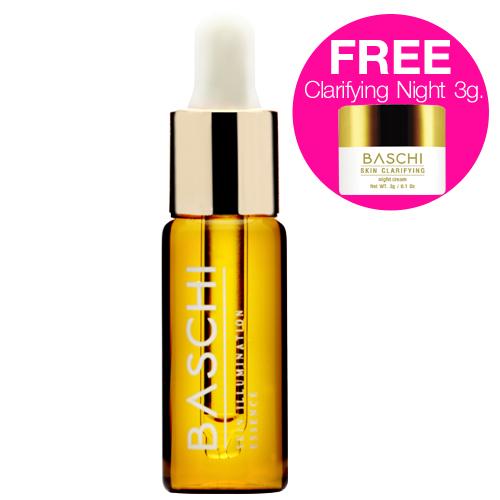 Baschi Skin Illumination Essence 10ml. ฟรี Skin Clarifying Night 3g.