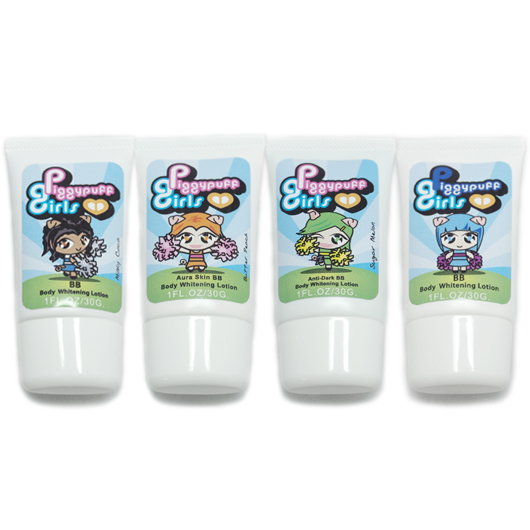 Set Sugar Melon, Butter Peach, Milky Coco, Marshmallow B
