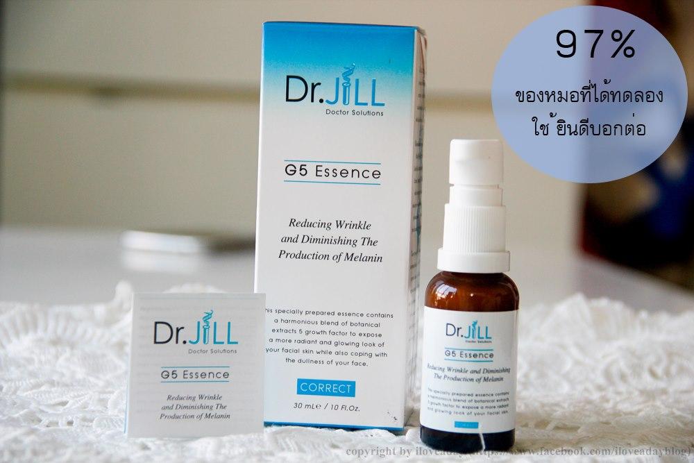 DR.JILL G5 ESSENCE เอสเซ้นส์ น้ำนมเข้มข้น ด๊อกเตอร์จิล 30ml.