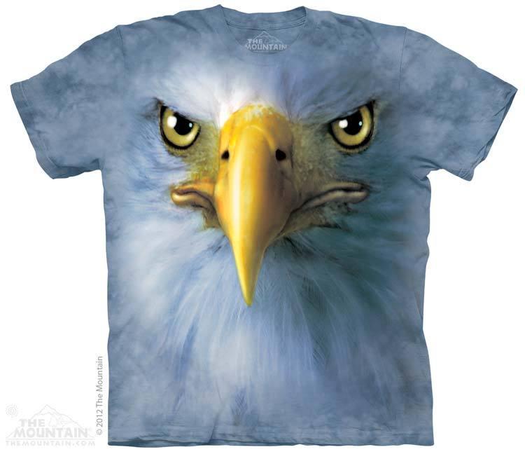 เสื้อยืด3Dสุดแนว(EAGLE FACE T-SHIRT)