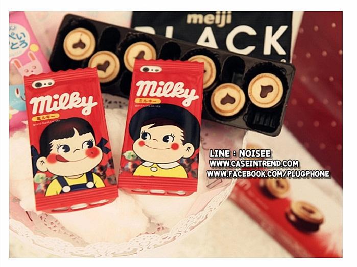 เคส iPhone4/4s - ซองขนม Milky