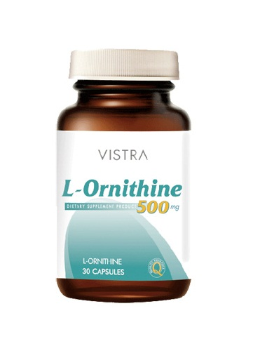 Vistra L-Ornithine 500 mg (30's)