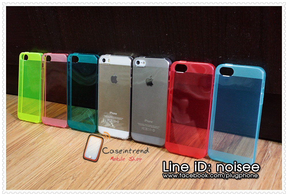 เคส iPhone5s /5 Clear Color