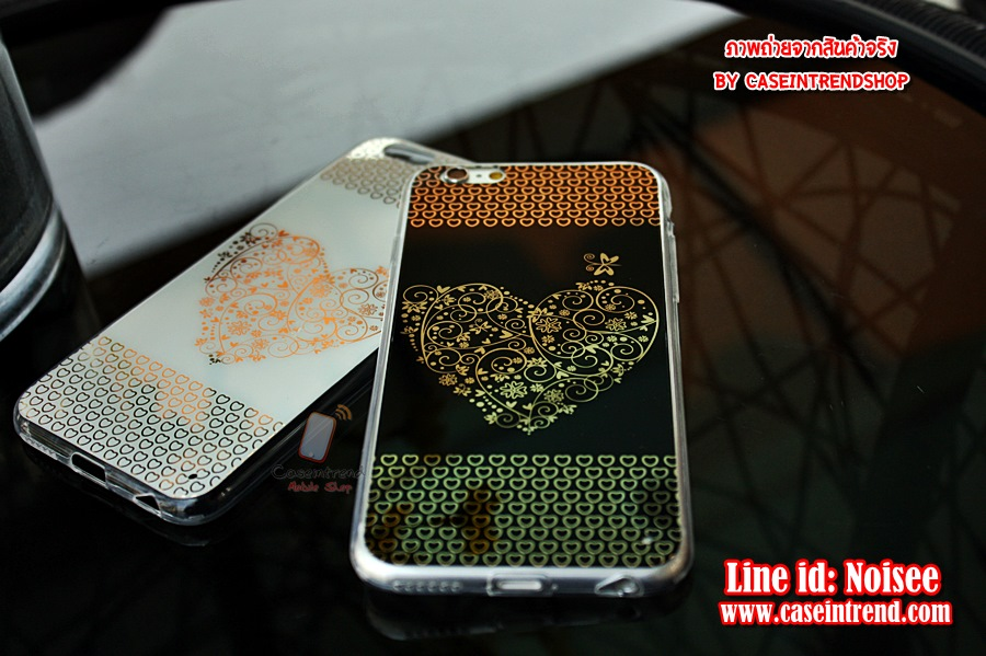 เคส iPhone 6 - TPU Heart