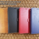 Leather Diary Case (Lenovo Vibe K5 Note)