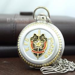 นาฬิกาพรีเมียมที่ระลึก ระบบถ่านควอทซ์ ลาย Classic Europe สีเงินเงาขนาดไซต์พิเศษ
