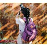 กระเป๋ากล้องสะพายหลัง สีม่วง
