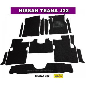 พรมดักฝุ่นไวนิล TEANA J32 สีดำ เต็มคัน สวยงาม เข้ารูป100% หนานุ่ม เหยียบนุ่มสบายเท้า ดักฝุ่น ดักทราย กันน้ำ ได้ดีที่สุด...ส่งฟรี