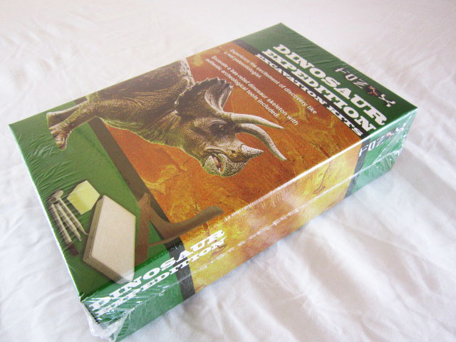 ชุดขุดฟอสซิลไดโนเสาร์(แบบแผ่นฟอสซิลตั้งโชว์)