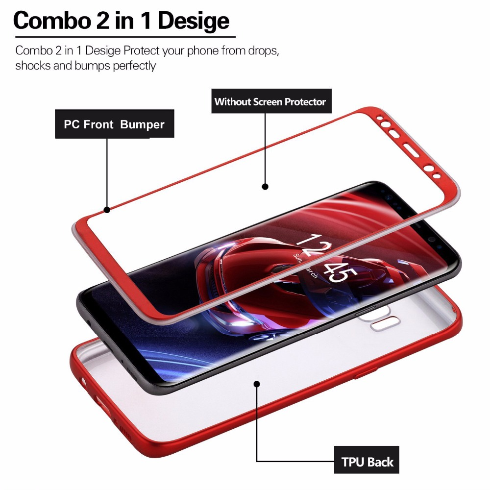 HYBRID 2 IN 1 Case (Samsung Galaxy S8 Plus)