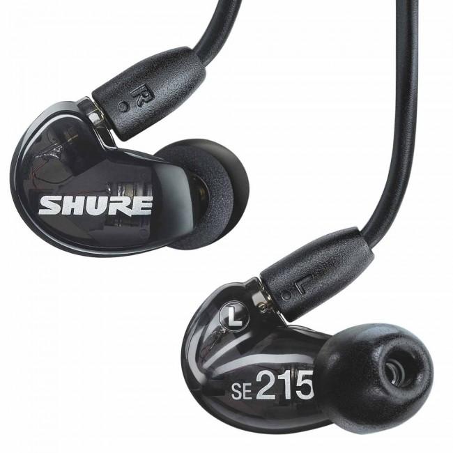 หูฟังShure SE215 สีดำ