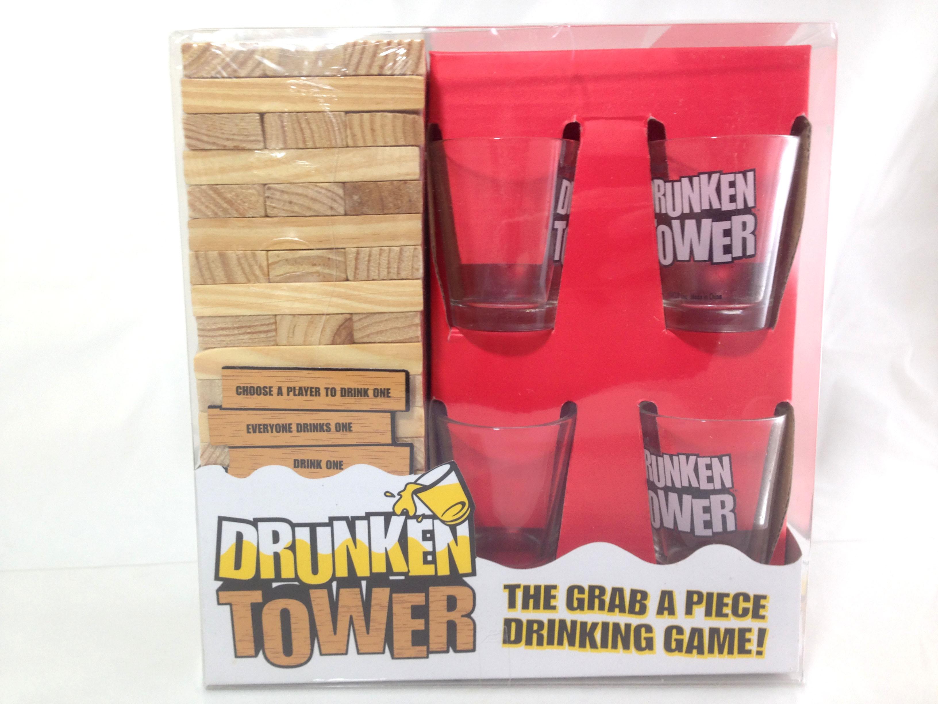 เกมตึกถล่มไม้(Druken Tower)