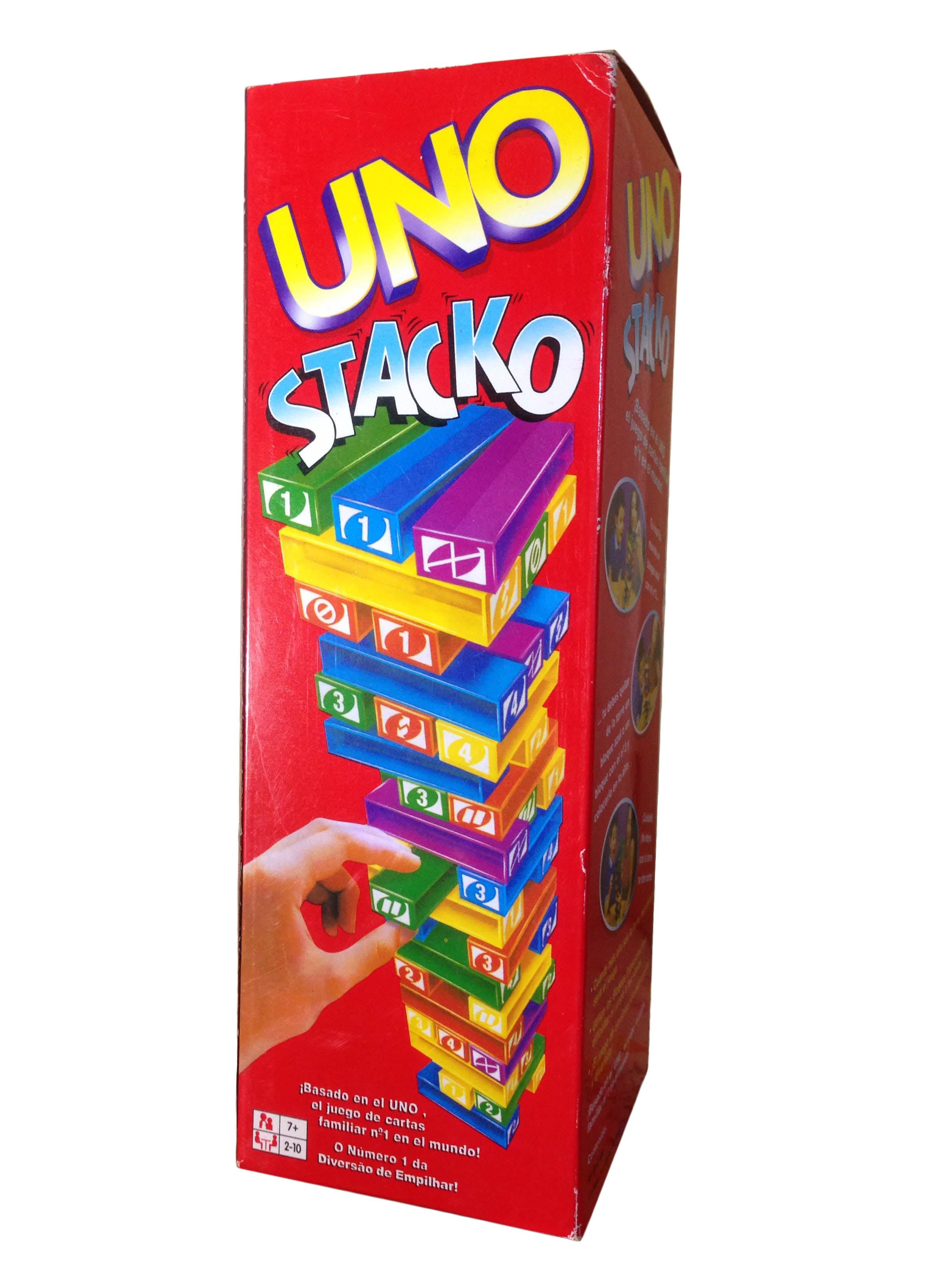 เกมตึกถล่มUno Stack
