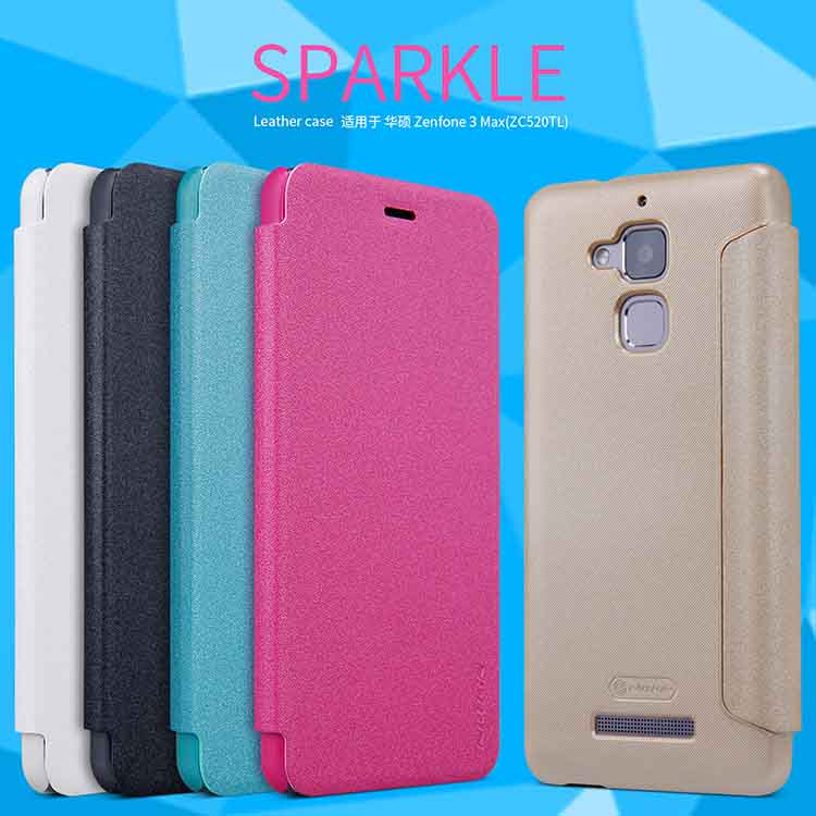 Nillkin Sparkle Leather Case (Asus Zenfone 3 MAX)