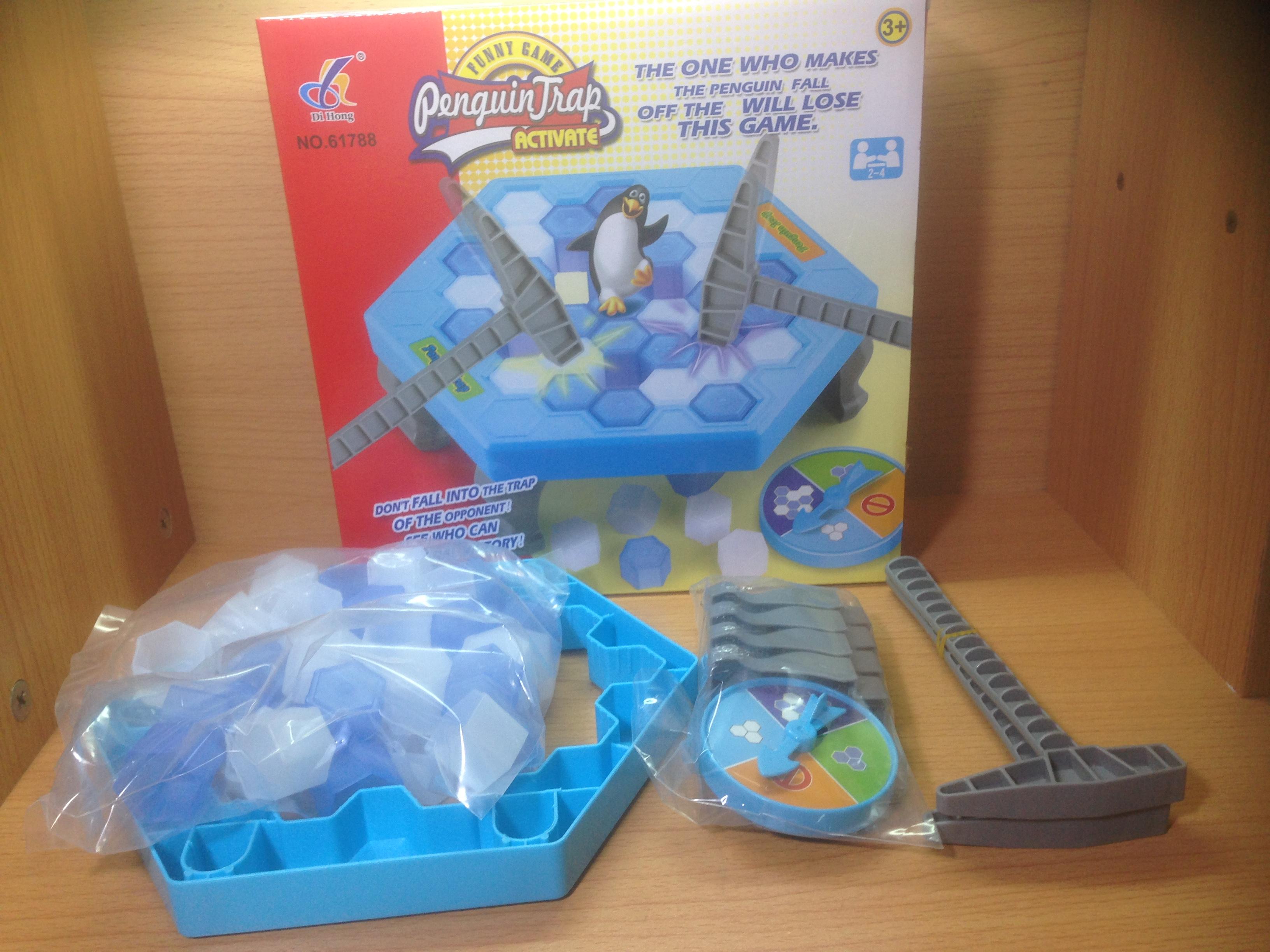 เกมกับดักเพนกวิน(Penguin Trap)