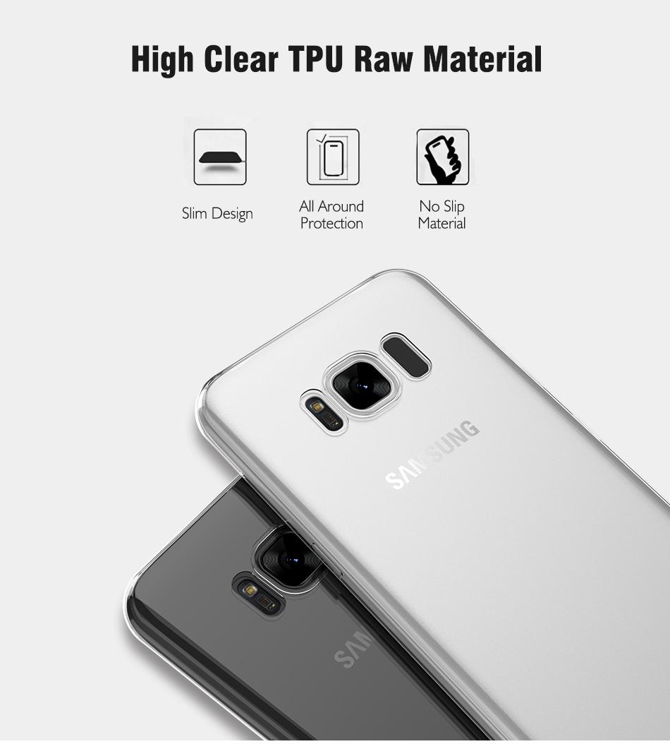 TPU Case โปร่งใส (Samsung Galaxy S8 Plus)