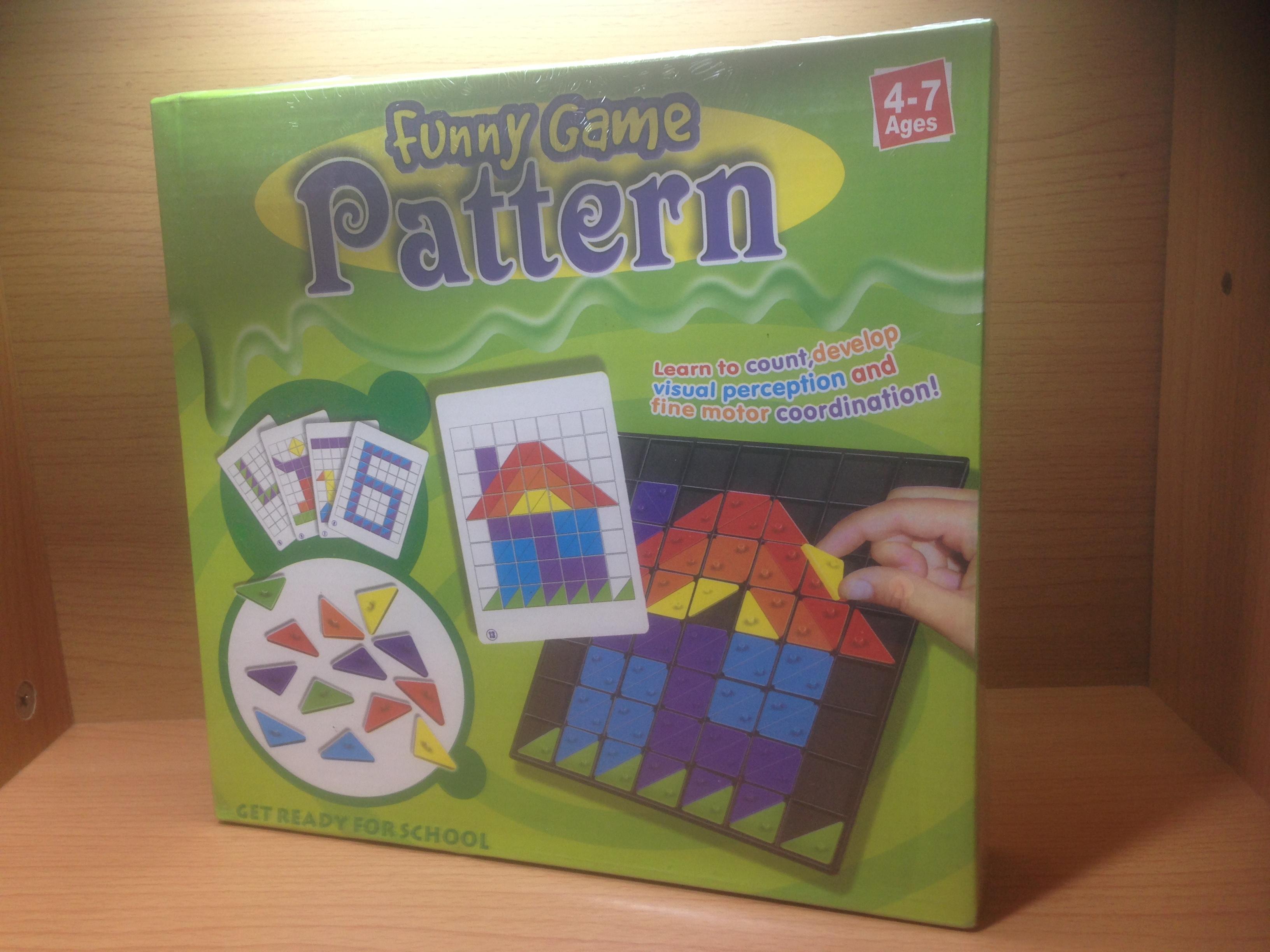 เกมต่อภาพตามแพทเทิร์น(Pattern)