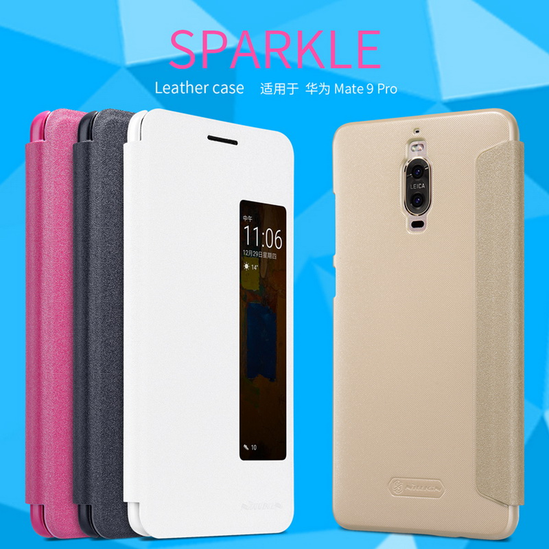 Nillkin Sparkle Leather Case (Huawei Mate 9 PRO)