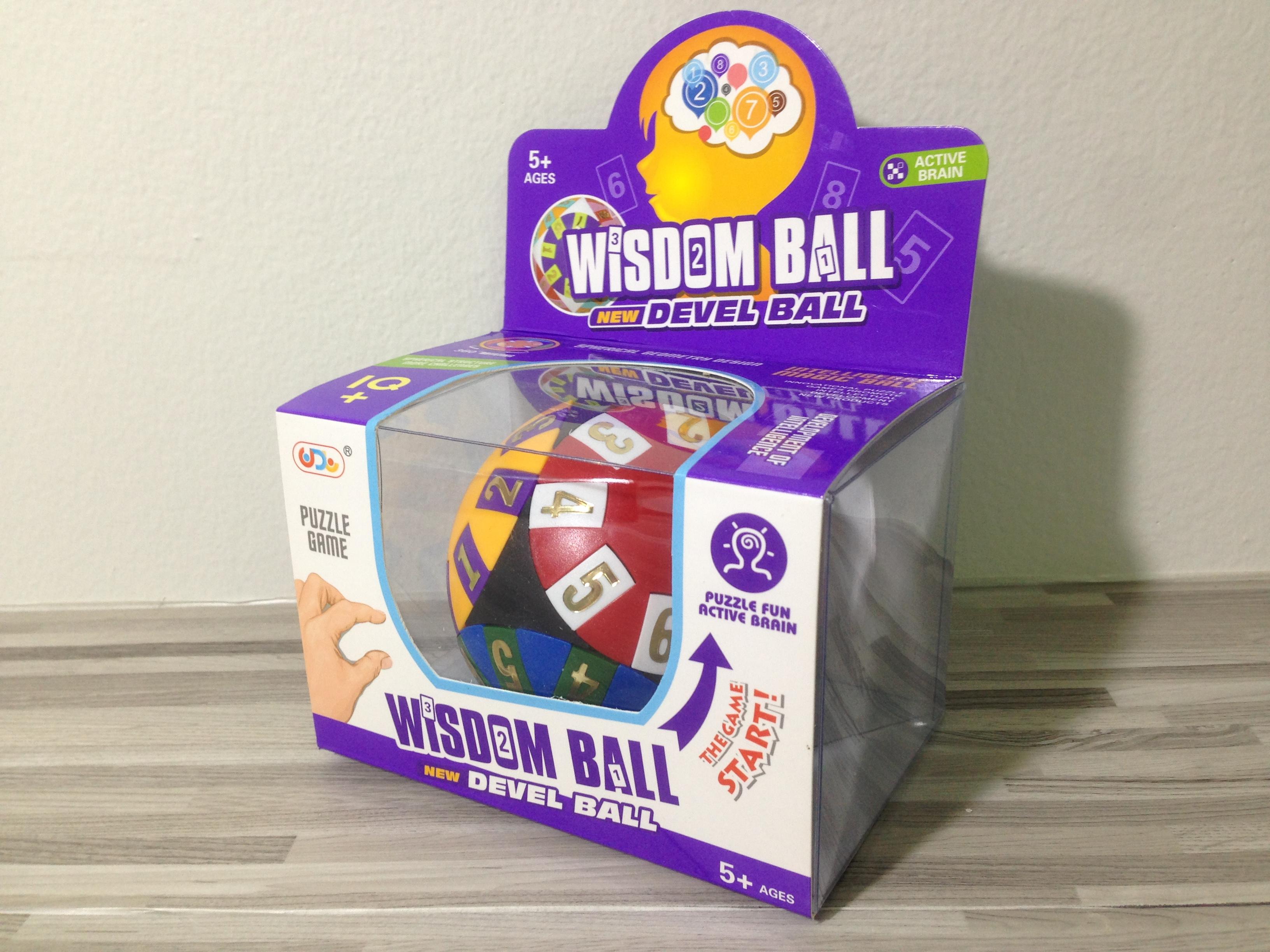 ลูกบอลพัซเซิลฝึกทักษะ