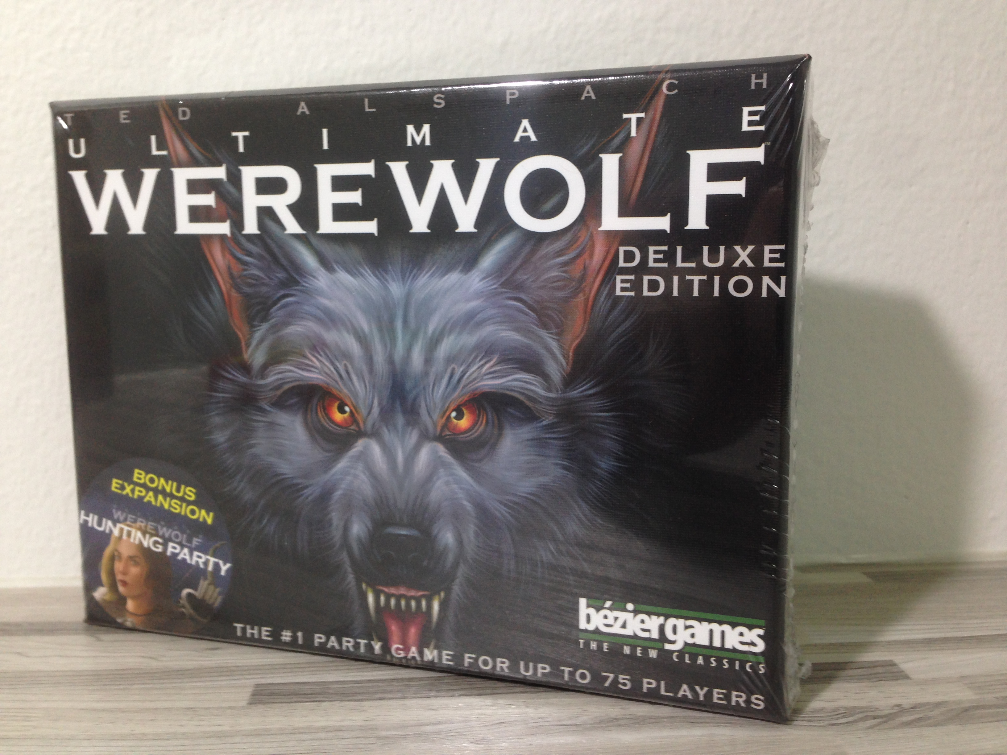 เกมการ์ดมนุษย์หมาป่า (Ultimate Werewolf Deluxe Edition)