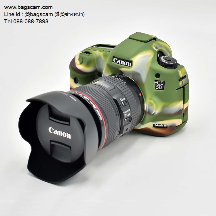 เคสซิลิโคน Canon 5D Mark III/5DR/5DSR