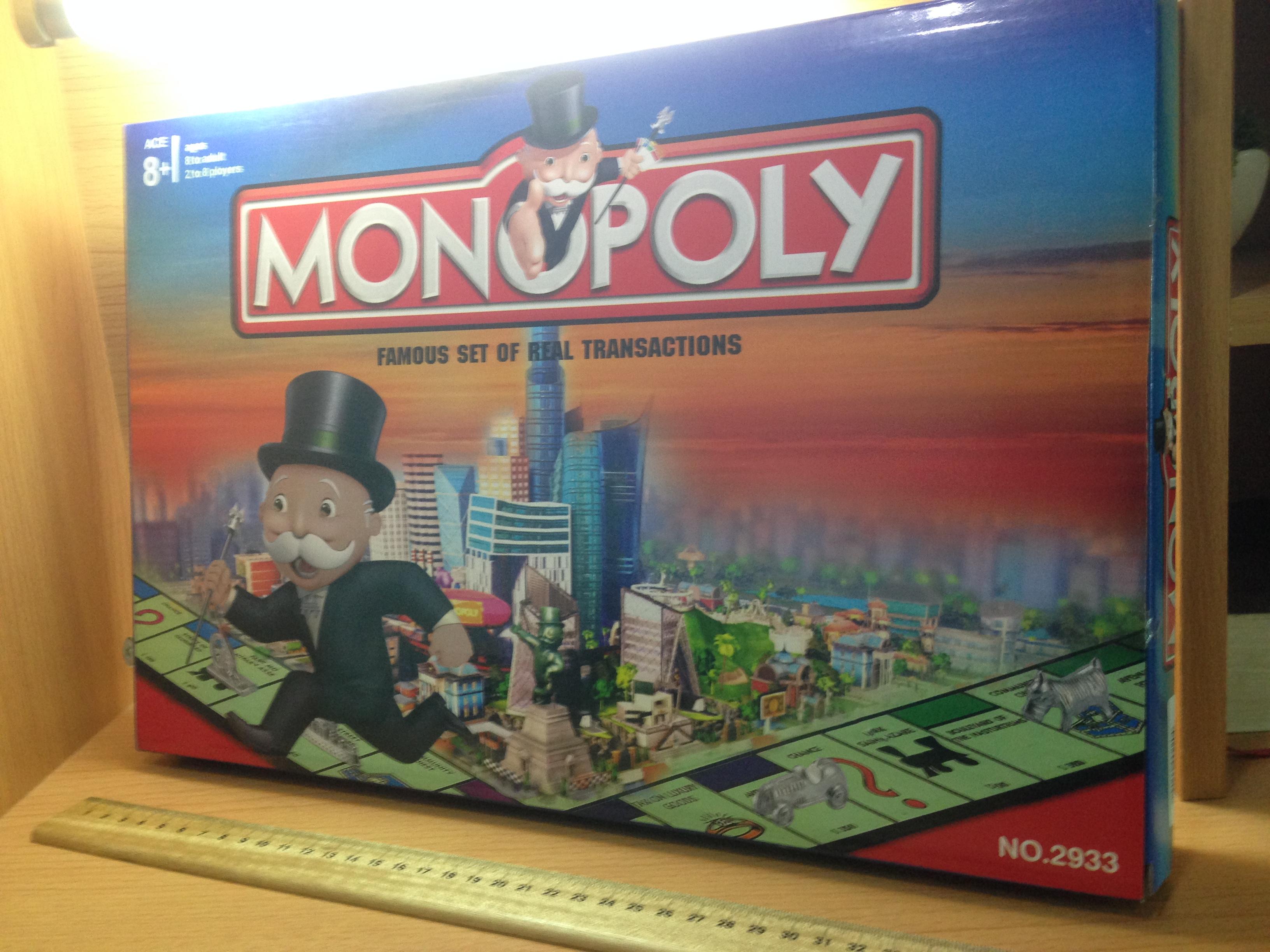 เกมเศรษฐีโมโนโพลี่ชุดมาตรฐาน
