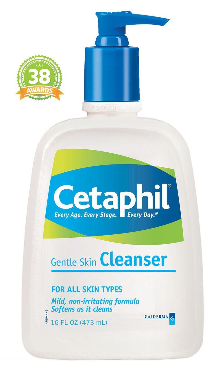 Cetaphil เซตาฟิล Cetaphil Gentle Skin Cleanser เซตาฟิลล้างหน้า สำหรับผิวบอบบาง สูตรสำหรับผู้ที่มีผิวแห้ง แพ้ง่าย ขนาดกลาง 250ml