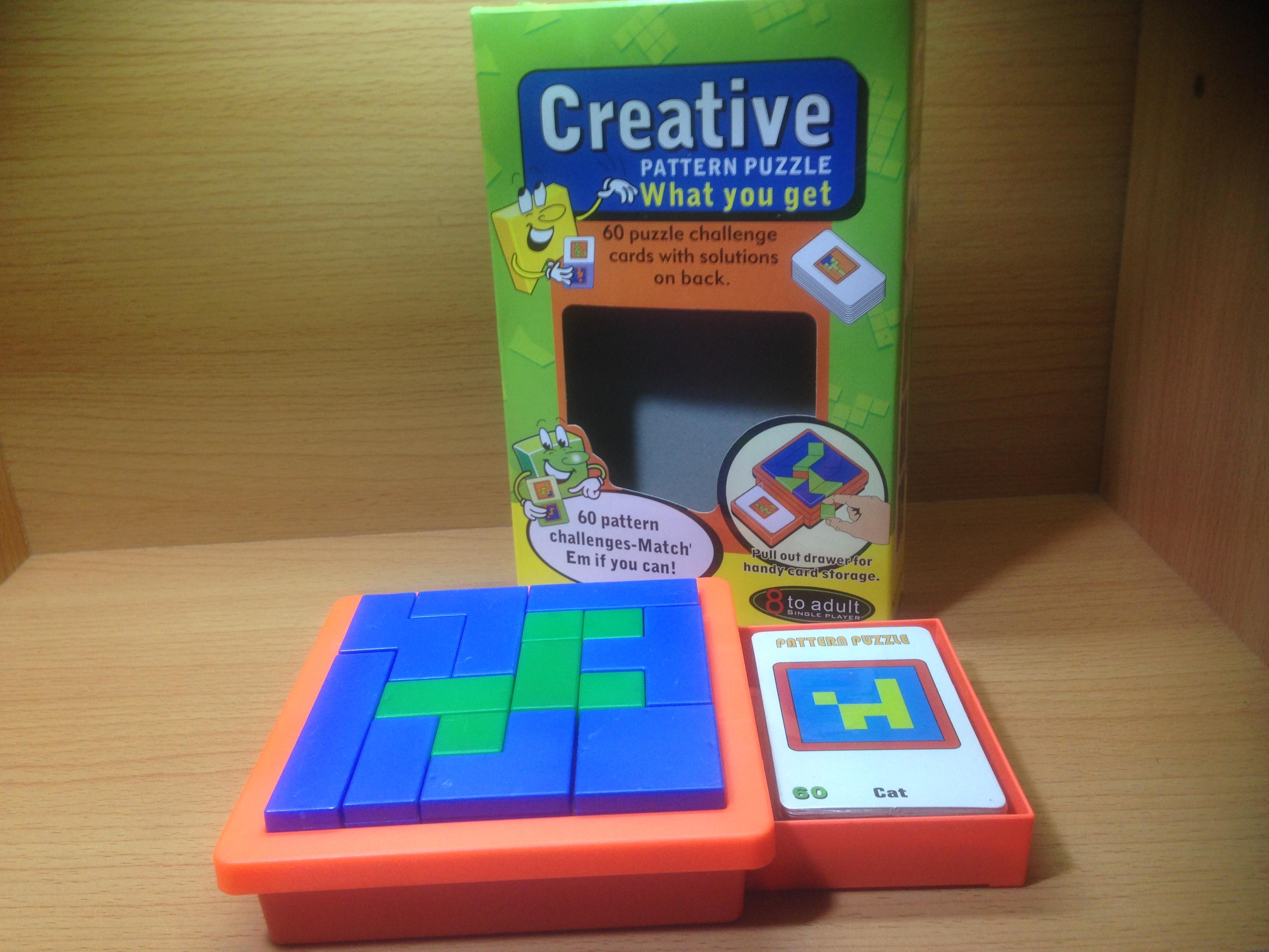 เกมต่อรูปทรงคลิเอทีพ แพทเทิร์น(Creative pattern)