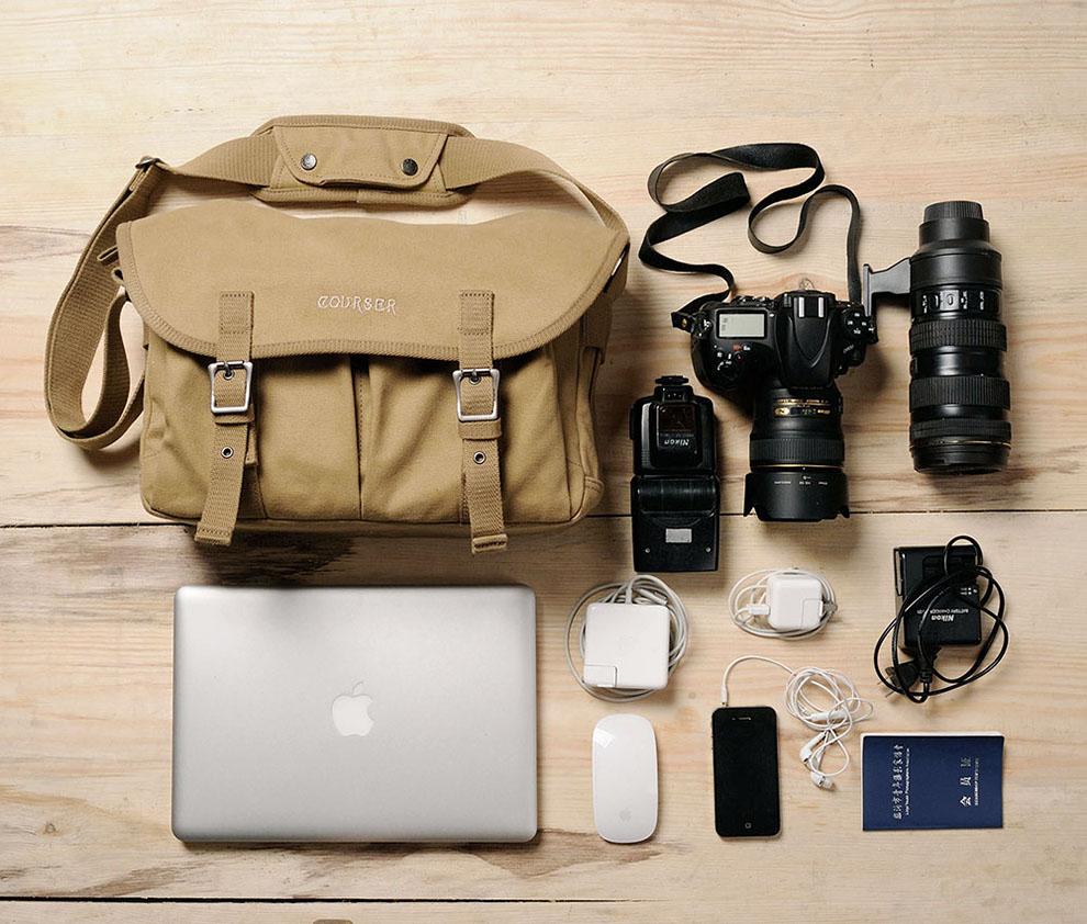 กระเป๋ากล้อง courser M8101