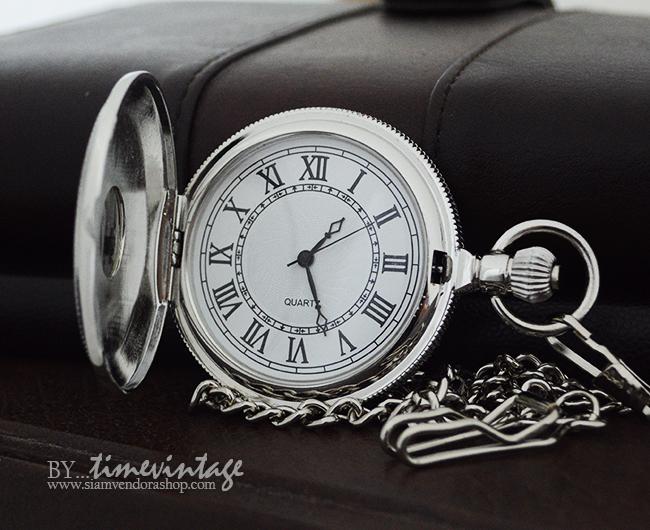 นาฬิกาพกถ่านควอทซ์