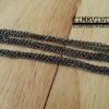 ***พร้อมส่ง***สายสร้อยคอสีดำ Black Color ความยาว- 80cm.