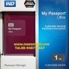 """WD New Passport Ultra 1TB 2.5"""" (Berry) USB3.0 (WDBGPU0010BRD)"""