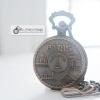 นาฬิกาสไตล์ปารีสวินเทจ ล็อคเก็ตนาฬิกา SOUVENIR คลาสสิค ตัวเรือน Rose Gold ระบบควอทซ์