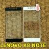 ฟิล์มกระจกนิรภัย 9H 2.5D แบบเต็มจอ (Lenovo K8 NOTE)