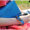 กระเป๋ากล้องหนัง VR สีน้ำเงิน