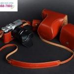 กระเป๋ากล้องFuji XM1 หนังแท้